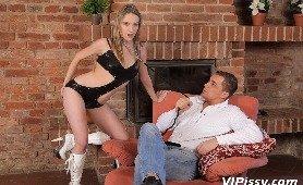 Angel Piaff Is A BDSM Piss Slave