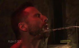 Edji Da Silva and Jonathan Agassi pissing gay sex